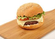 Cheeseburger  Print by Paul Cowan