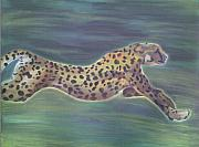Cheetah Pastels - Cheetah by Steven Santee