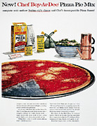 Salad Prints - Chef Boyardee Ad, 1956 Print by Granger