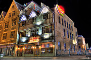 Hard Rock Cafe Prints - Chelis Chili Bar Detroit Print by Nicholas  Grunas