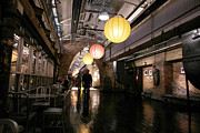 Chelsea Framed Prints - Chelsea Market Framed Print by David Bearden