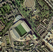 Chelsea Football Posters - Chelseas Stamford Bridge Stadium, Aerial Poster by Getmapping Plc