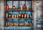 Lab Metal Prints - Chemist - My first chemistry set  Metal Print by Mike Savad