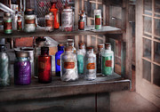 Lab Metal Prints - Chemistry - Ready to experiment  Metal Print by Mike Savad
