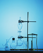 Clamps Prints - Chemistry Apparatus Print by Andrew Lambert Photography