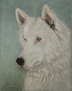 North American Wildlife Pastels - Chenoa by Teresa LeClerc
