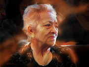 Old Woman Portrait Prints - Cherish Every Moment..... Print by Bob Salo