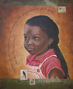 Aids Paintings - Cherish the Children by Dee Youmans-Miller