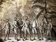 Delegation Prints - Cherokee Delegation, 1730 Print by Granger