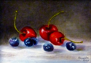 Alexandra Kopp - Cherries and Blueberries