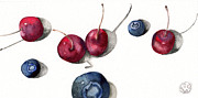 Kristin Maija Peterson - Cherries and Blueberries