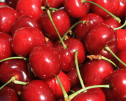 Food And Beverages Photos - Cherries  by Carol Groenen