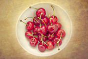 Cherries Prints - Cherries  Print by Violet Damyan