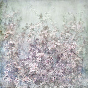 Paul Grand Art - Cherry Blossom Grunge by Paul Grand