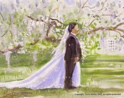 Gertrude Palmer - Cherry Blossom Wedding