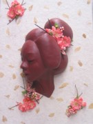 Sculpture Sculptures Reliefs - Cherry Blossoms by Tomi LaPierre
