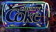John Keaton Digital Art - Cherry Coke 2 by John Keaton