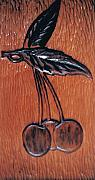 Carving Reliefs - Cherry On Cherry by Marjan Khomami