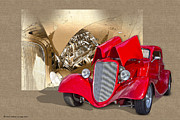 Autoart Prints - Cherry Pickin Print by Roger Beltz