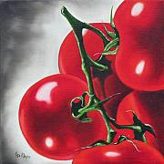 Ilse Kleyn Metal Prints - Cherry Tomatoes Metal Print by Ilse Kleyn