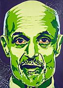 Iraq Paintings - Chertoff by Dennis McCann