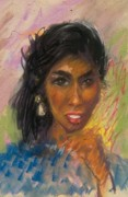 Black Family Pastels - Cheryls Delight by John Robinson