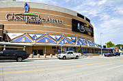 Nba Finals Prints - Chesapeake Arena Print by Malania Hammer
