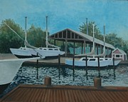 Lester Glass - Chesapeake Bay Boatyard