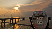Daniel Lowe Metal Prints - Chesapeake Bay Sunset Metal Print by Daniel Lowe