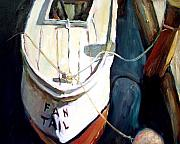 Fishing Boat Paintings - Chesapeake Boat by Bob Dornberg