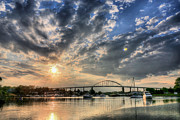Chesapeake Bay Framed Prints - Chesapeake City Framed Print by JC Findley