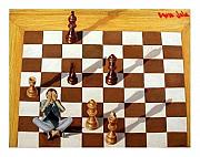 Adel Jarbou Art - Chess by Adel Jarbou