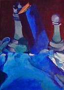Brittany Perez Art - Chess Peace by Brittany Perez