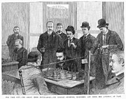 Chess Posters - Chess Tournament, 1889 Poster by Granger
