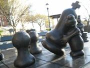 Chessmen Photos - Chessmen by Ariadne Sandbeck