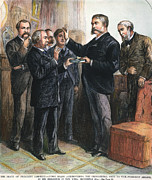 Swearing In Prints - Chester Alan Arthur: Oath Print by Granger