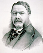 President Of The United States Photos - Chester Arthur - President of the United States of America by International  Images