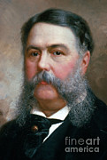 First President Posters - Chester Arthur Poster by Photo Researchers