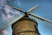 Alternative Energy Framed Prints - Chesterton Windmill Framed Print by Christopher Gandy