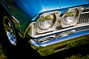 V8 Chevelle Posters - Chevelle Lights Poster by Phil 