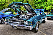 Custom Auto Prints - Chevelle SS Print by David Hahn