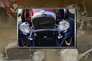 Kirkland Prints - Chevrolet 1932 Sport Coupe Montage Print by Curt Johnson