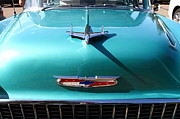 Transportation Acrylic Prints - Chevrolet Bel-Air . Blue . 7D12850 Acrylic Print by Wingsdomain Art and Photography