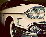 Pink Cadillac Prints - Chevrolet Cadillac No. 3 Print by Lisa Russo