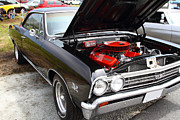 Chevelle Posters - Chevrolet Chevelle SS 396 7d15180 Poster by Wingsdomain Art and Photography