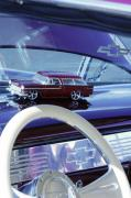 Car Detail Prints - Chevrolet Nomad Toy Car Print by Jill Reger