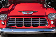 Chevrolet Pickup Framed Prints - Chevrolet Pickup Grille Framed Print by Jill Reger