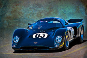 Racing Car Photographs Posters - Chevron B16 Poster by Stuart Row