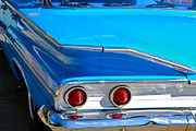 1960 Photo Originals - Chevy Bel Air Fin by Bill Owen