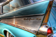 Joel Witmeyer Prints - Chevy Bel Air Print by Joel Witmeyer
